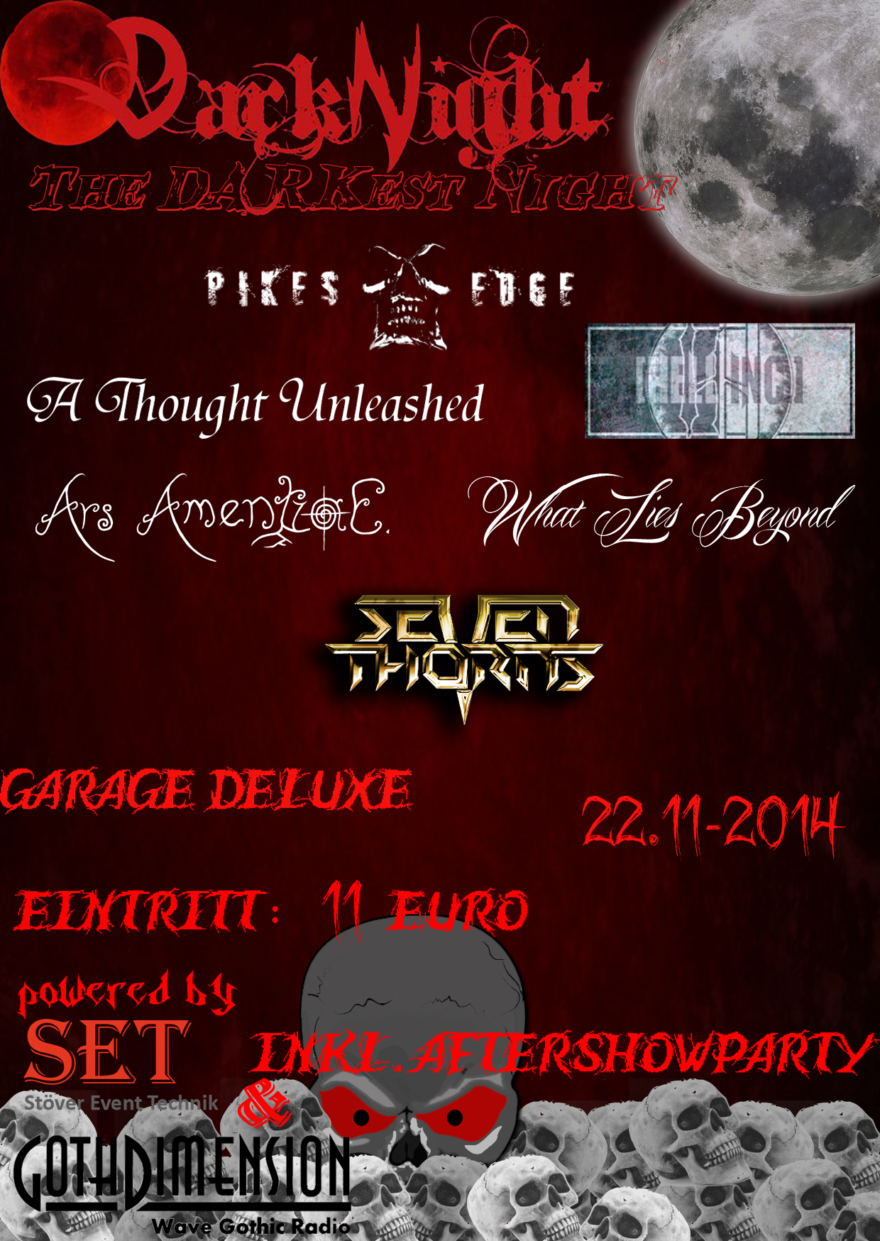 Flyer 2014 : The DARKest Night